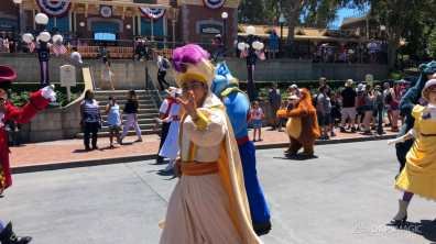 First Performance- Mickey and Friends Band-Tastic Cavalcade at Disneyland-30