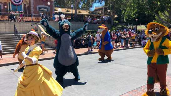 First Performance- Mickey and Friends Band-Tastic Cavalcade at Disneyland-32