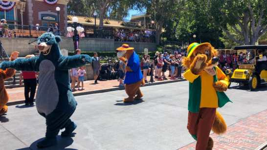 First Performance- Mickey and Friends Band-Tastic Cavalcade at Disneyland-33