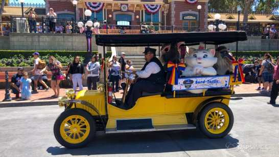 First Performance- Mickey and Friends Band-Tastic Cavalcade at Disneyland-35