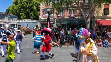 First Performance- Mickey and Friends Band-Tastic Cavalcade at Disneyland-39