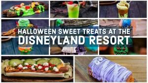Halloween Sweet Treats at the Disneyland Resort