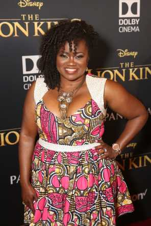 "HOLLYWOOD, CALIFORNIA - JULY 09: Niketa Calame-Harris attends the World Premiere of Disney's ""THE LION KING"" at the Dolby Theatre on July 09, 2019 in Hollywood, California. (Photo by Jesse Grant/Getty Images for Disney)"
