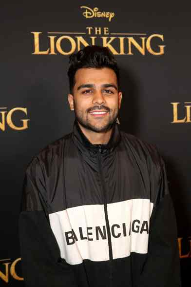 "HOLLYWOOD, CALIFORNIA - JULY 09: Adam Waheed attends the World Premiere of Disney's ""THE LION KING"" at the Dolby Theatre on July 09, 2019 in Hollywood, California. (Photo by Jesse Grant/Getty Images for Disney)"