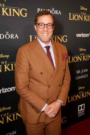 """HOLLYWOOD, CALIFORNIA - JULY 09: Rob Minkoff attends the World Premiere of Disney's """"THE LION KING"""" at the Dolby Theatre on July 09, 2019 in Hollywood, California. (Photo by Jesse Grant/Getty Images for Disney)"""