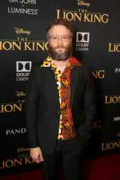 "HOLLYWOOD, CALIFORNIA - JULY 09: Seth Rogen attends the World Premiere of Disney's ""THE LION KING"" at the Dolby Theatre on July 09, 2019 in Hollywood, California. (Photo by Jesse Grant/Getty Images for Disney)"