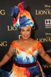 "HOLLYWOOD, CALIFORNIA - JULY 09: Patrick Starrr attends the World Premiere of Disney's ""THE LION KING"" at the Dolby Theatre on July 09, 2019 in Hollywood, California. (Photo by Jesse Grant/Getty Images for Disney)"