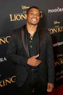 "HOLLYWOOD, CALIFORNIA - JULY 09: Chester Gregory attends the World Premiere of Disney's ""THE LION KING"" at the Dolby Theatre on July 09, 2019 in Hollywood, California. (Photo by Jesse Grant/Getty Images for Disney)"