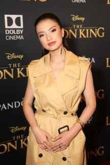 "HOLLYWOOD, CALIFORNIA - JULY 09: Raline Shah attends the World Premiere of Disney's ""THE LION KING"" at the Dolby Theatre on July 09, 2019 in Hollywood, California. (Photo by Jesse Grant/Getty Images for Disney)"