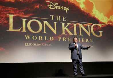 "HOLLYWOOD, CALIFORNIA - JULY 09: Director/producer Jon Favreau attends the World Premiere of Disney's ""THE LION KING"" at the Dolby Theatre on July 09, 2019 in Hollywood, California. (Photo by Jesse Grant/Getty Images for Disney)"