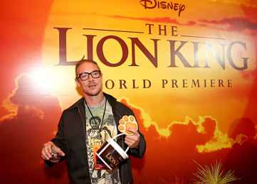 "HOLLYWOOD, CALIFORNIA - JULY 09: Diplo attends the World Premiere of Disney's ""THE LION KING"" at the Dolby Theatre on July 09, 2019 in Hollywood, California. (Photo by Jesse Grant/Getty Images for Disney)"