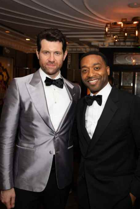 Billy Eichner and Chiwetel Ejiofor attends the European Premiere of DisneyÕs ÒThe Lion KingÓ at the Odeon Leicester Square on 14th July 2019 in London, UK