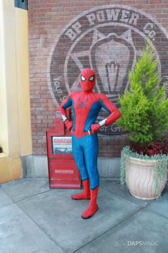 Spider-Man With New Suit at Disney California Adventure-11