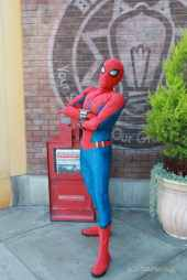 Spider-Man With New Suit at Disney California Adventure-12