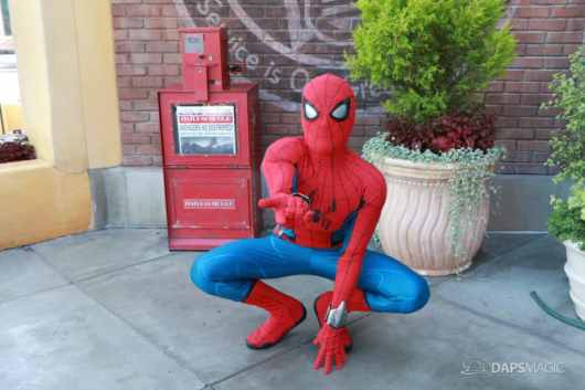 Spider-Man With New Suit at Disney California Adventure-16