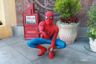 Spider-Man With New Suit at Disney California Adventure-19