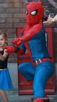 Spider-Man With New Suit at Disney California Adventure-6