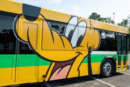 New Walt Disney World Resort Bus Paint Jobs