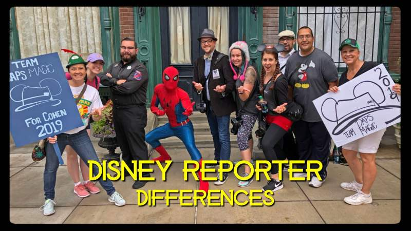 Differences - DISNEY Reporter
