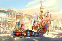 """Set to debut in spring 2020 at Disneyland Park in California, the new Magic Happens parade will come to life with an energetic musical score and a new song produced in partnership with singer-songwriter Todrick Hall. The parade will feature stunning floats, beautiful costumes, and beloved Disney characters from """"Moana,"""" """"Coco,"""" """"Sleeping Beauty,"""" and more – all led by Mickey Mouse and his pals. (Disney)"""