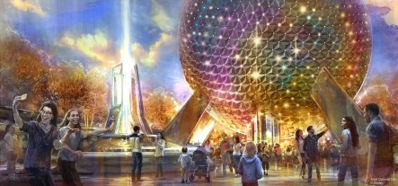 Epcot at Walt Disney World Resort in Florida is undergoing a historic transformation, bringing the next generation of immersive storytelling to life through a plethora of new attractions and experiences. The park's entrance will be transformed with a reimagined fountain, new pathways, and sweeping green spaces that beautify the entryway while paying homage to the origins of Epcot.