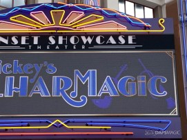 Mickeys PhilharMagic Entrance Sunset Showcase Theater-5