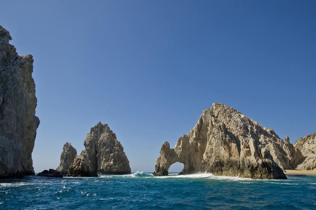The Disney Wonder sails from San Diego to Baja and the Mexican Riviera with visits to Cabo San Lucas, a Mexican destination famous for its dramatic rock formations, white-sand beaches and sparkling turquoise waters. (Matt Stroshane, photographer)