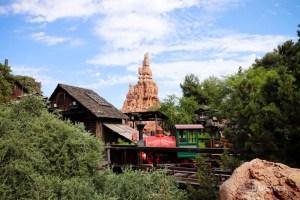 Big Thunder Mountain Railroad 40th Anniversary at Disneyland