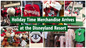 Holiday Time Merchandise Arrives at the Disneyland Resort