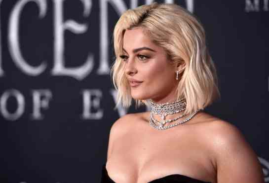 "HOLLYWOOD, CALIFORNIA - SEPTEMBER 30: Soundtrack artist Bebe Rexha attends the World Premiere of Disney's ""Maleficent: Mistress of Evil"" at the El Capitan Theatre on September 30, 2019 in Hollywood, California. (Photo by Alberto E. Rodriguez/Getty Images for Disney)"