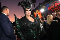 "HOLLYWOOD, CALIFORNIA - SEPTEMBER 30: Nina West attends the World Premiere of Disney's ""Maleficent: Mistress of Evil"" at the El Capitan Theatre on September 30, 2019 in Hollywood, California. (Photo by Charley Gallay/Getty Images for Disney)"