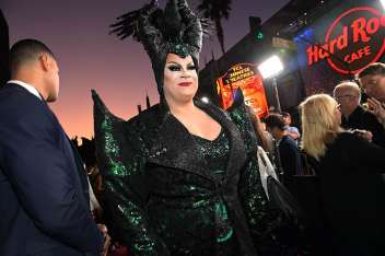 """HOLLYWOOD, CALIFORNIA - SEPTEMBER 30: Nina West attends the World Premiere of Disney's """"Maleficent: Mistress of Evil"""" at the El Capitan Theatre on September 30, 2019 in Hollywood, California. (Photo by Charley Gallay/Getty Images for Disney)"""