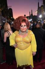 """HOLLYWOOD, CALIFORNIA - SEPTEMBER 30: Ginger Minj attends the World Premiere of Disney's """"Maleficent: Mistress of Evil"""" at the El Capitan Theatre on September 30, 2019 in Hollywood, California. (Photo by Charley Gallay/Getty Images for Disney)"""