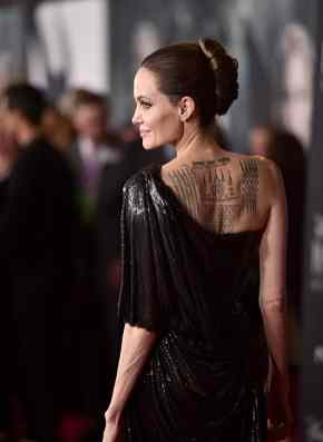 """HOLLYWOOD, CALIFORNIA - SEPTEMBER 30: Actor Angelina Jolie attends the World Premiere of Disney's """"Maleficent: Mistress of Evil"""" at the El Capitan Theatre on September 30, 2019 in Hollywood, California. (Photo by Alberto E. Rodriguez/Getty Images for Disney)"""