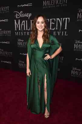 """HOLLYWOOD, CALIFORNIA - SEPTEMBER 30: Hayley Orrantia attends the World Premiere of Disney's """"Maleficent: Mistress of Evil"""" at the El Capitan Theatre on September 30, 2019 in Hollywood, California. (Photo by Alberto E. Rodriguez/Getty Images for Disney)"""