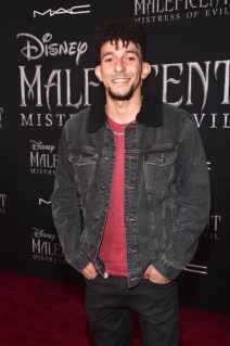 """HOLLYWOOD, CALIFORNIA - SEPTEMBER 30: Khleo Thomas attends the World Premiere of Disney's """"Maleficent: Mistress of Evil"""" at the El Capitan Theatre on September 30, 2019 in Hollywood, California. (Photo by Alberto E. Rodriguez/Getty Images for Disney)"""
