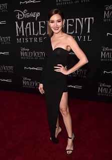 """HOLLYWOOD, CALIFORNIA - SEPTEMBER 30: Rhatha Phongam attends the World Premiere of Disney's """"Maleficent: Mistress of Evil"""" at the El Capitan Theatre on September 30, 2019 in Hollywood, California. (Photo by Alberto E. Rodriguez/Getty Images for Disney)"""