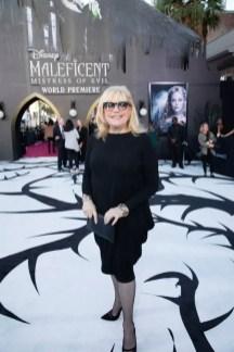 "Costume Designer Ellen Mirojnick attends the World Premiere of Disney's ""Maleficent: Mistress of Evil"" at the El Capitan Theatre in Hollywood, CA on September 30, 2019 .(photo: Alex J. Berliner/ABImages)"