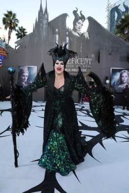 "Nina West attends the World Premiere of Disney's ""Maleficent: Mistress of Evil"" at the El Capitan Theatre in Hollywood, CA on September 30, 2019 (photo: Alex J. Berliner/ABImages)"