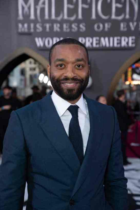 Chiwetel Ejiofor attends the World Premiere of DisneyÕs ÒMaleficent: Mistress of EvilÓ at the El Capitan Theatre in Hollywood, CA on September 30, 2019 .(photo: Alex J. Berliner/ABImages)