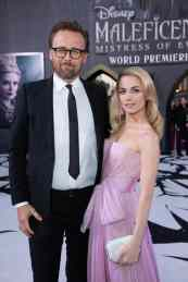 Director Joachim Ronning and Amanda Hearst attend the World Premiere of DisneyÕs ÒMaleficent: Mistress of EvilÓ at the El Capitan Theatre in Hollywood, CA on September 30, 2019 .(photo: Alex J. Berliner/ABImages)