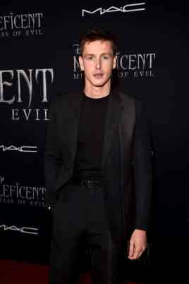 """HOLLYWOOD, CALIFORNIA - SEPTEMBER 30: Actor Harris Dickinson attends the World Premiere of Disney's """"Maleficent: Mistress of Evil"""" at the El Capitan Theatre on September 30, 2019 in Hollywood, California. (Photo by Alberto E. Rodriguez/Getty Images for Disney)"""