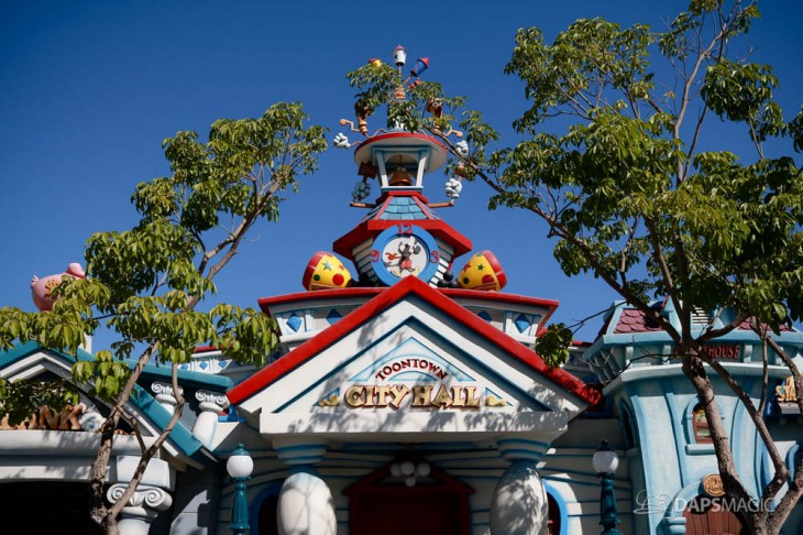 Mickeys Toontown Without Hills at Disneyland-1