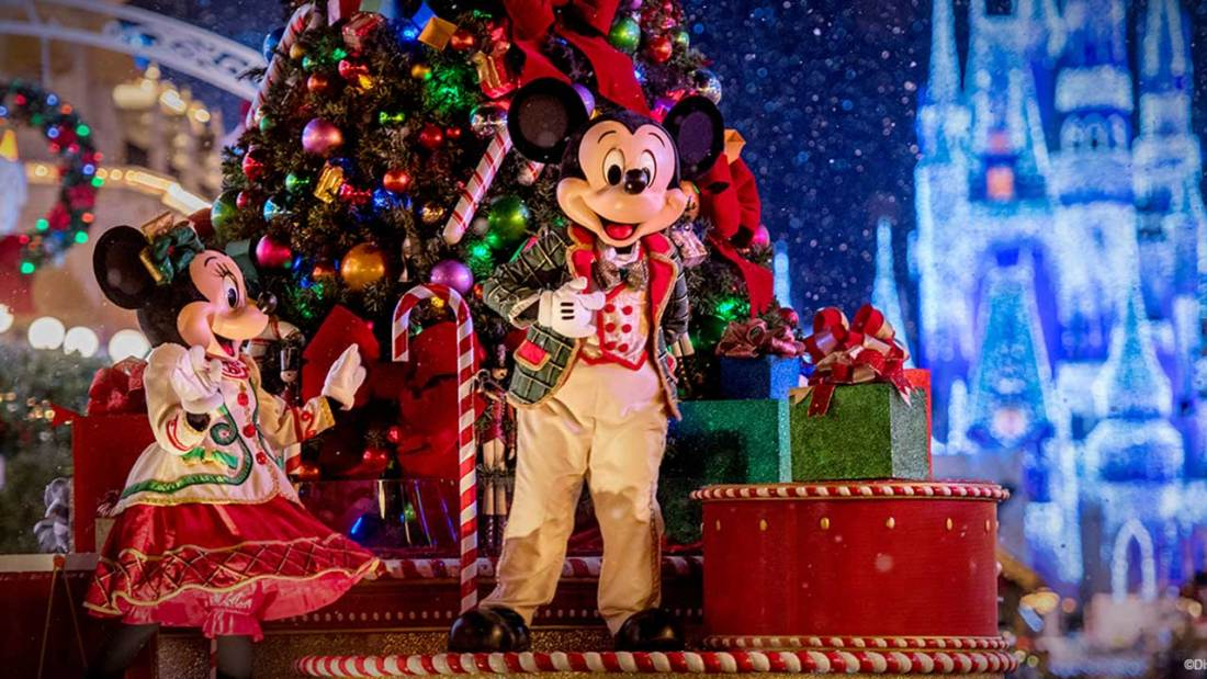 Walt Disney World Resort at Christmas