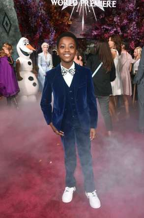 "HOLLYWOOD, CALIFORNIA - NOVEMBER 07: Ramon Reed attends the world premiere of Disney's ""Frozen 2"" at Hollywood's Dolby Theatre on Thursday, November 7, 2019 in Hollywood, California. (Photo by Alberto E. Rodriguez/Getty Images for Disney)"