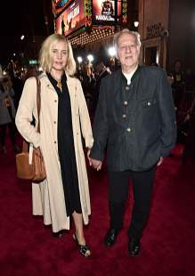 "HOLLYWOOD, CALIFORNIA - NOVEMBER 13: (L-R) Lena Herzog and Werner Herzog arrive at the premiere of Lucasfilm's first-ever, live-action series, ""The Mandalorian,"" at the El Capitan Theatre in Hollywood, Calif. on November 13, 2019. ""The Mandalorian"" streams exclusively on Disney+. (Photo by Alberto E. Rodriguez/Getty Images for Disney)"