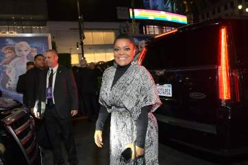 "HOLLYWOOD, CALIFORNIA - NOVEMBER 07: Yvette Nicole Brown attends the world premiere of Disney's ""Frozen 2"" at Hollywood's Dolby Theatre on Thursday, November 7, 2019 in Hollywood, California. (Photo by Charley Gallay/Getty Images for Disney)"