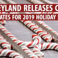 Disneyland Releases Candy Cane Dates for 2019 Holiday Season