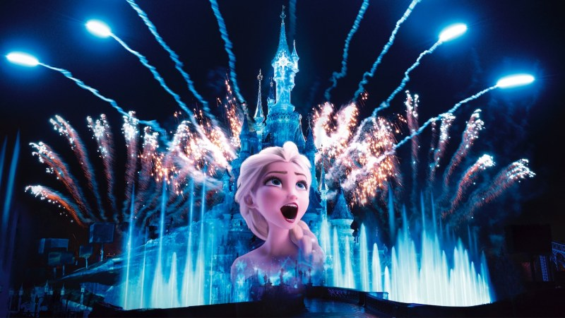Frozen at Disneyland Paris