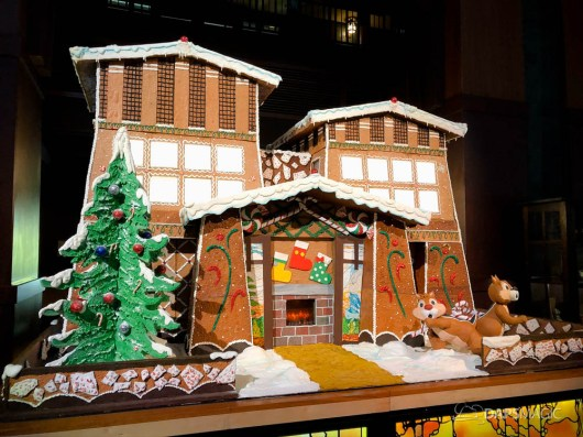 Grand Californian Hotel and Spa Gingerbread House-1